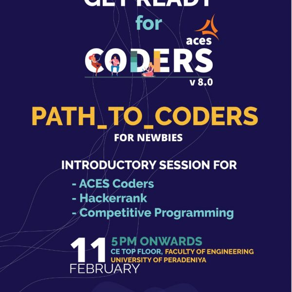 An introduction session about ACES Coders v8.0 for newbies